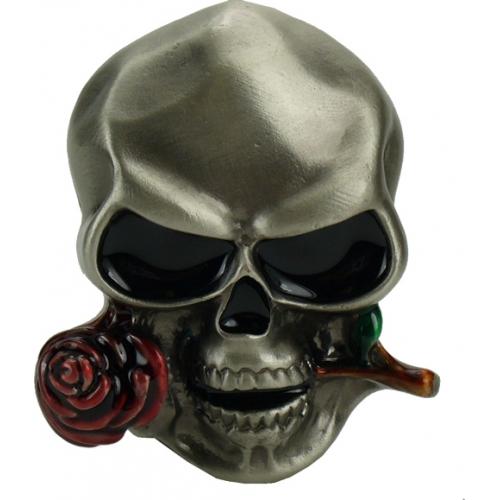 Boucle ceinture tête de mort Casanova  Boucle ... 84d710632f3