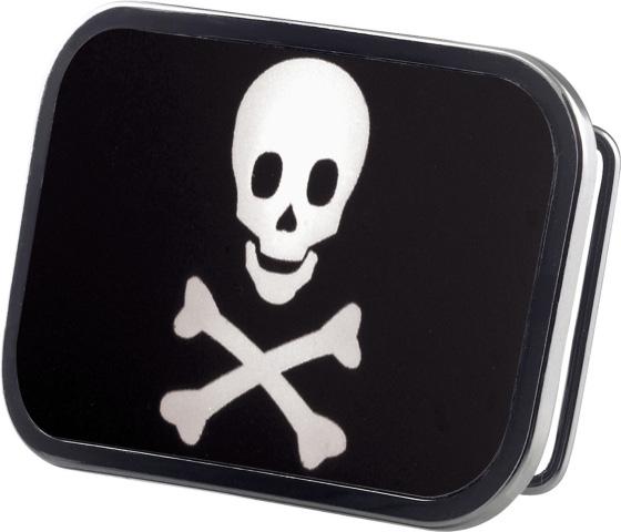 Boucle de ceinture Tête de mort Noire Blanche  Boucle ... 92b6c3399ab